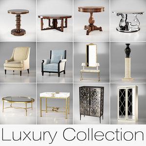 interior elements luxury 3D