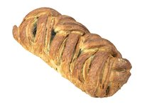photorealistic scanned spinach strudel 3D model