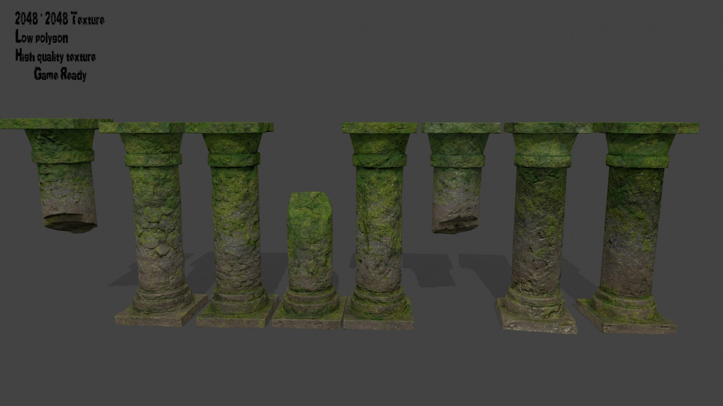 3D pillar column
