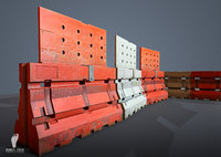 GAME READY 3D Jersey Barriers