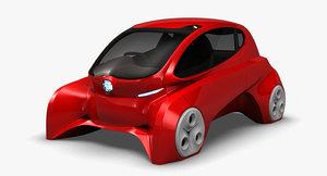 3D model kancil ev-6