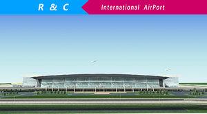 3D international airport