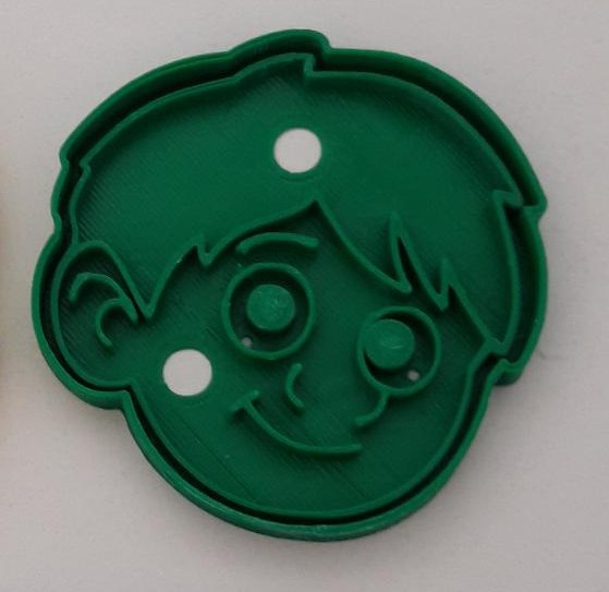 3D cocos cookie cutter model