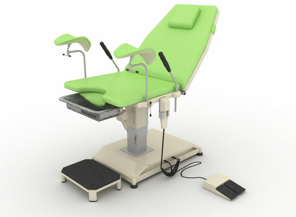 exam chair 3D
