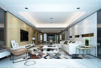 lobby modern 3D model