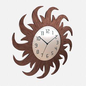 wall clock sun model