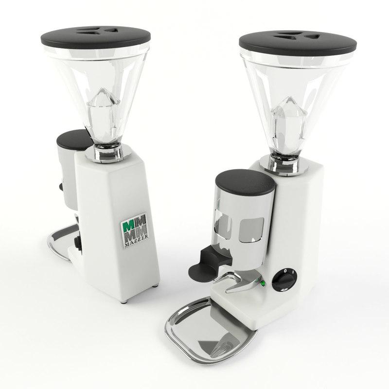 3D grinder-doser mazzer luidgi