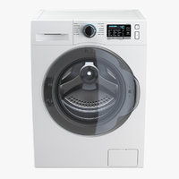 load washing machine white 3D