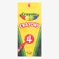crayola 4 count colored 3D model