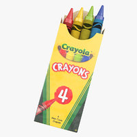 3D classic color pack crayons