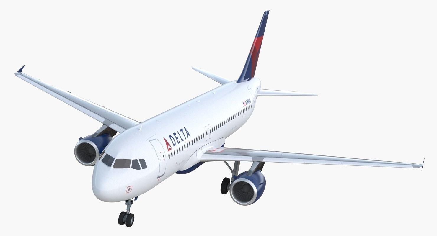 airbus a320 delta air lines model
