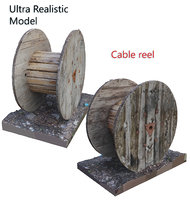 cable reel scan 3D model