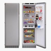 3D model appliance fridge liebherr