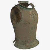 3D illyrian armor