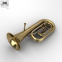 tuba music instrument 3D model