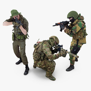 human soldier 3D