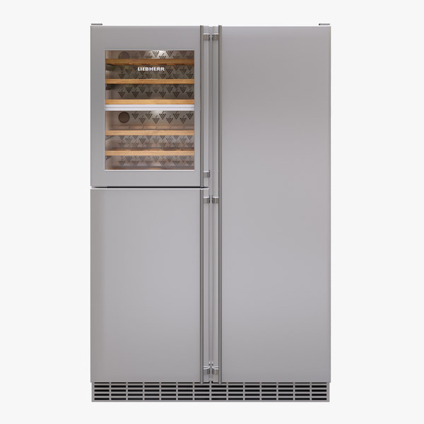 3D appliance fridge liebherr