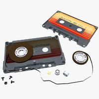 3D cassette tape
