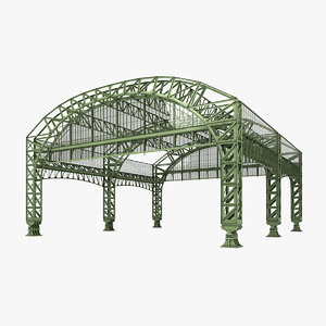 3D steel structure