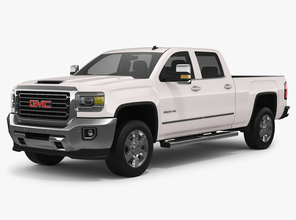 2018 gmc sierra 2500hd model