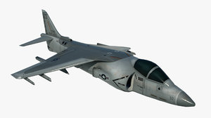 3D military airplane mcdonnell douglas