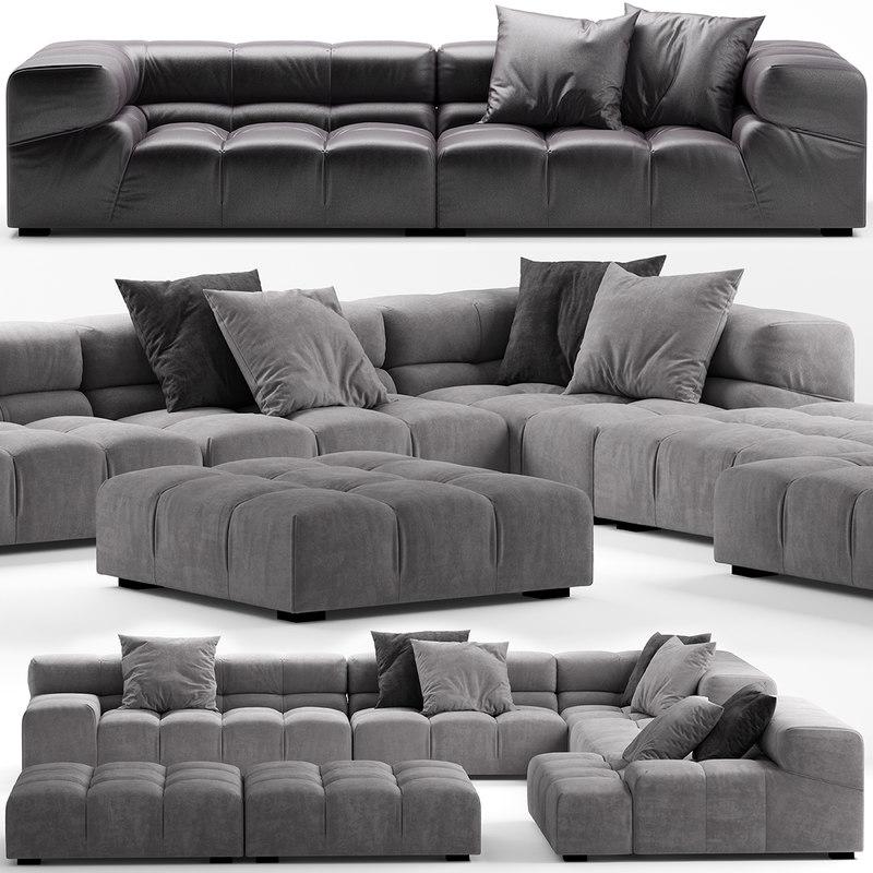 3D model sofa seat furniture