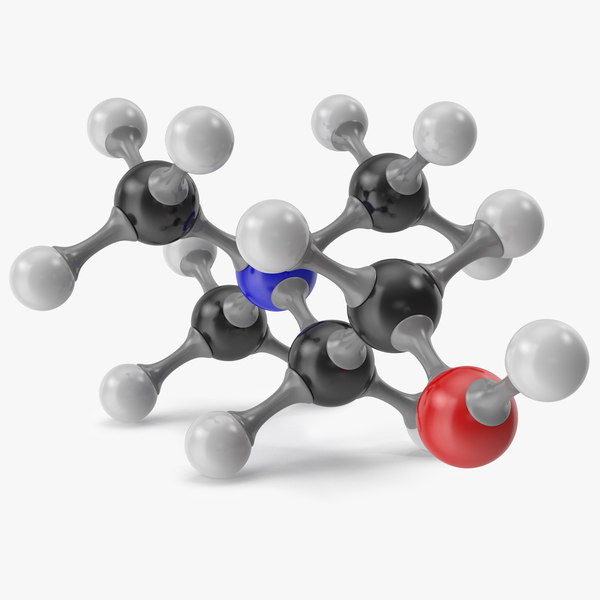 choline molecular model