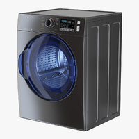 Inox Front Load Dryer Samsung