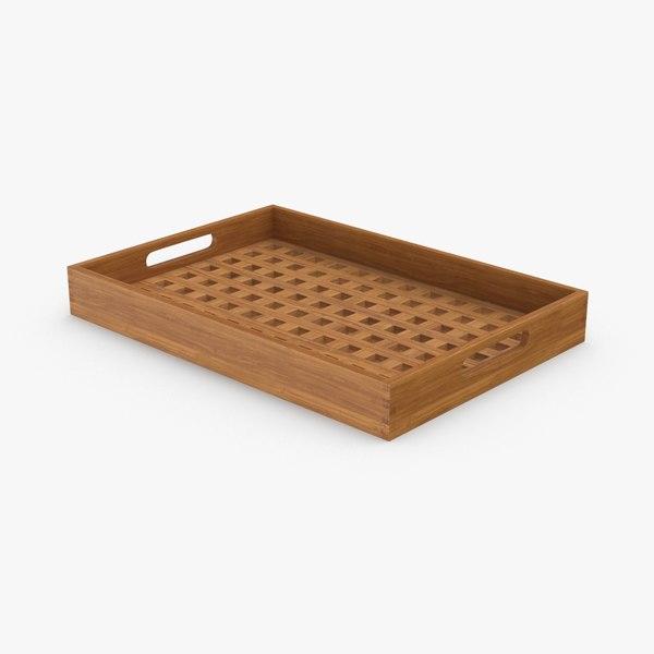 3D modern tray model