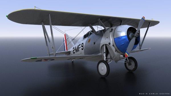 grumman f2f-1 marines 1939 model
