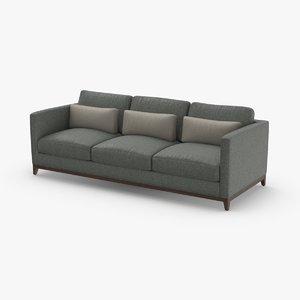 contemporary 3 seater sofa model