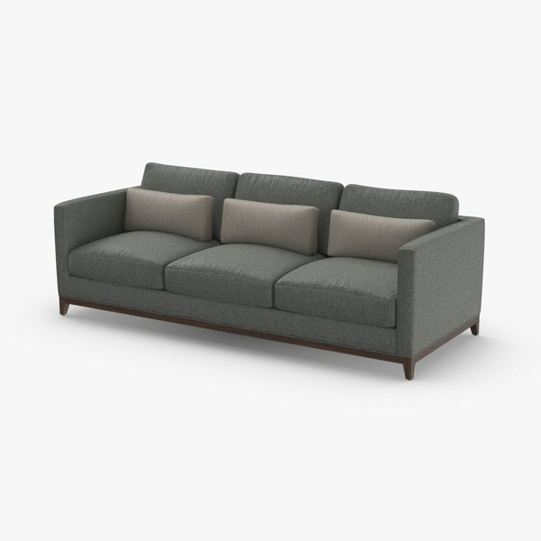 contemporary 3 seater sofa model