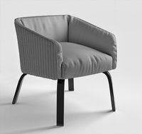 lolita diamond meridiani armchair 3D model