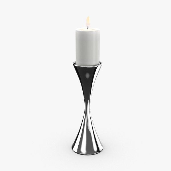 contemporary candle holder 3D model