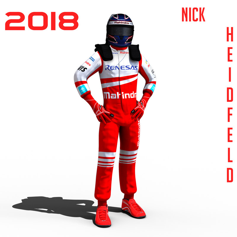 3D e heidfeld 2018 model