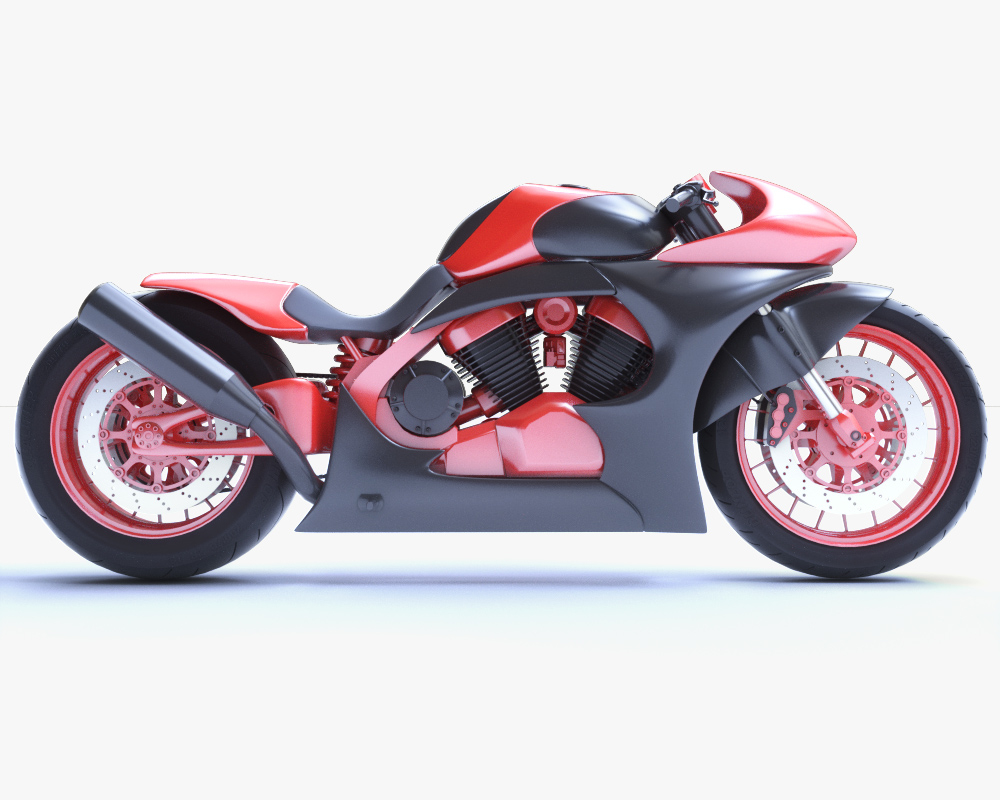 concept motorcycle model