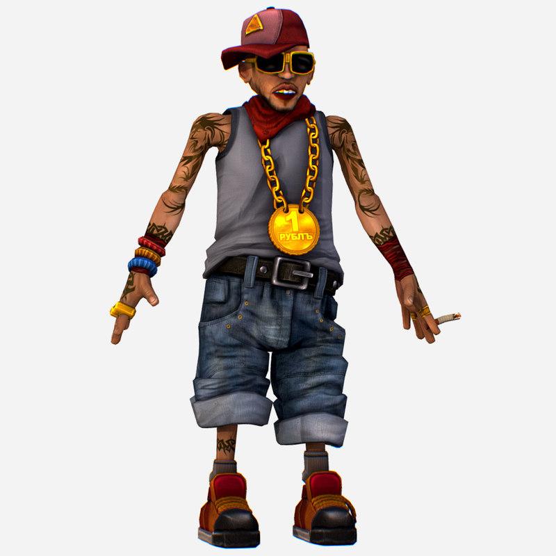 3D rapper bitter coolest man