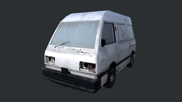 forgotten car 3D model