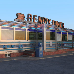 3D new jersey fast food