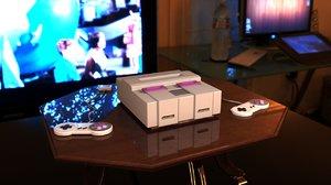 snes console 3D