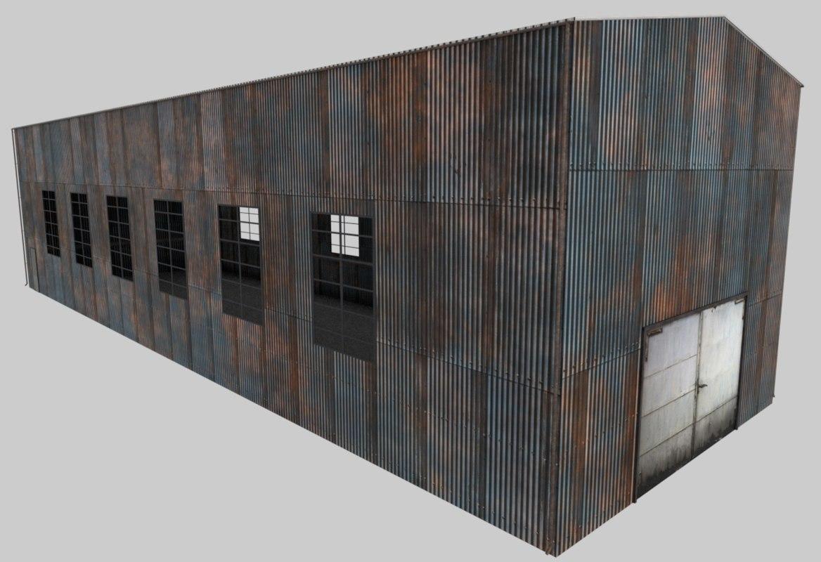 warehouse unreal engine model