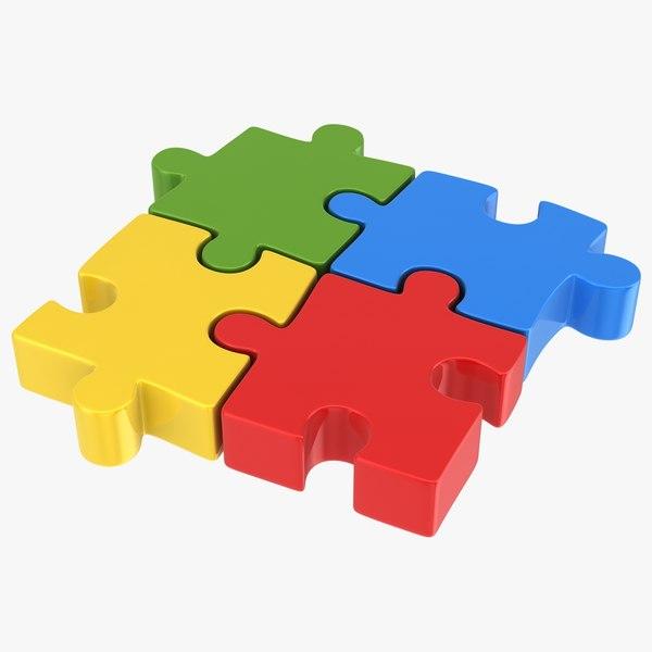 puzzle piece model