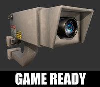 3D model video camera ready