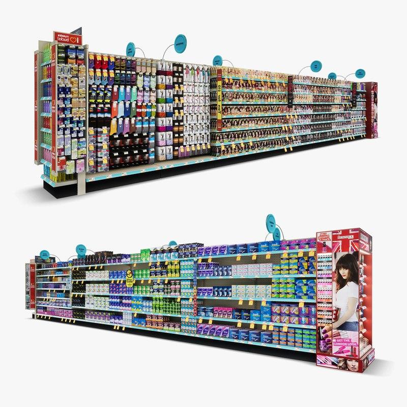 aisle 01 - 3D model