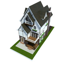 home house architecture 3D model
