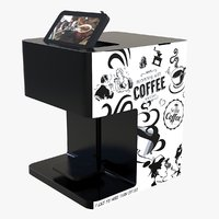3D selfie coffee printer machine