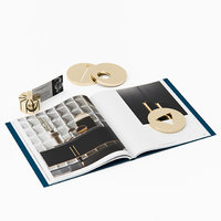 Gallotti Radice Paperweight and Card Holder Set