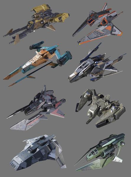 3D spaceship space