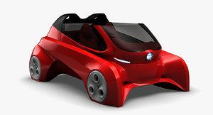 cabrio kancel ev-6 3D model