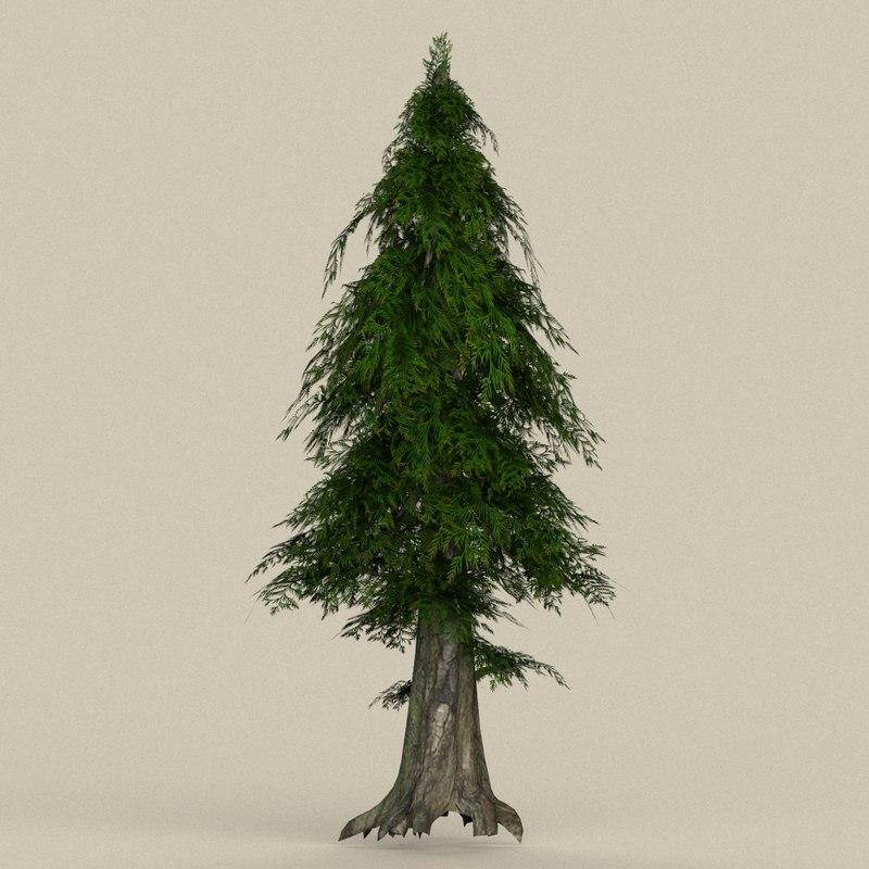 3D model ready tree
